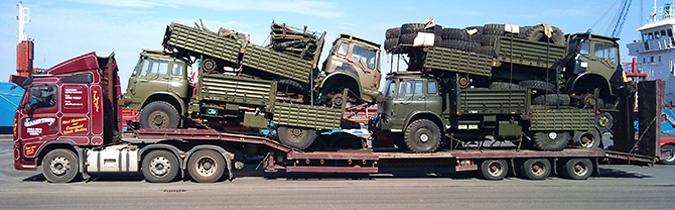 Trucks for export