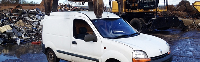 We offer very competitive prices for scrap cars